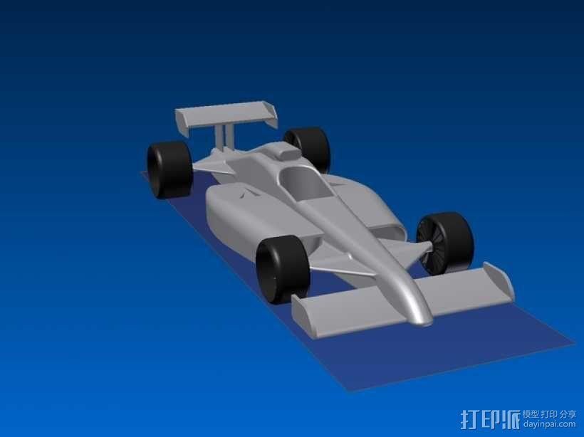 F1 玩具赛车 3D模型  图1