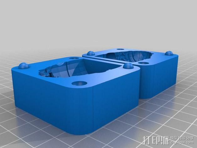 Baldev玩偶模具 3D模型  图2