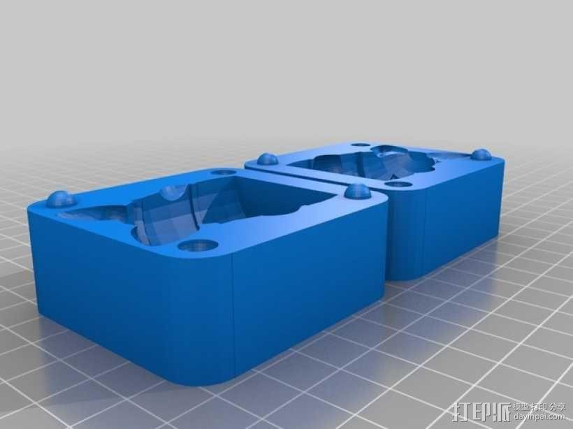 Pigdexter玩偶模具 3D模型  图2