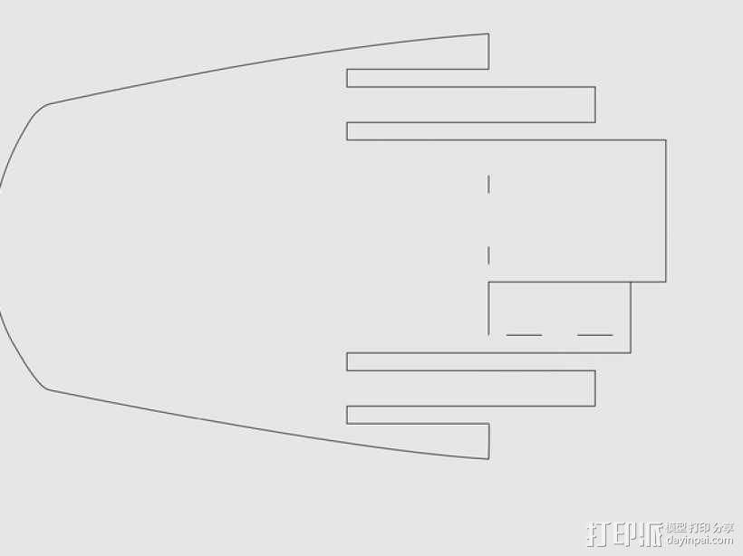 加利恩帆船 3D模型  图5