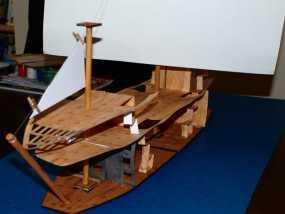 加利恩帆船 3D模型
