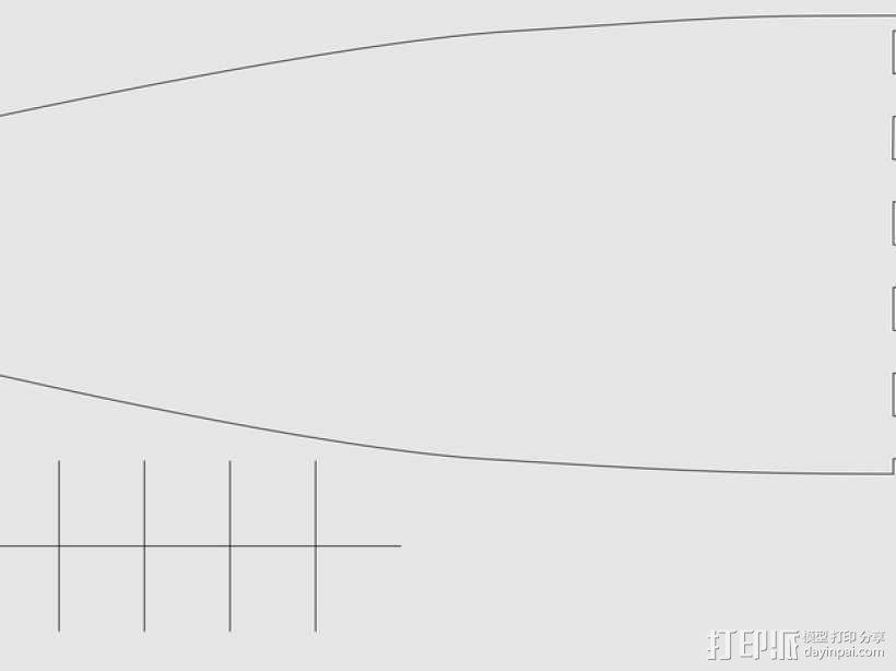 加利恩帆船 3D模型  图7