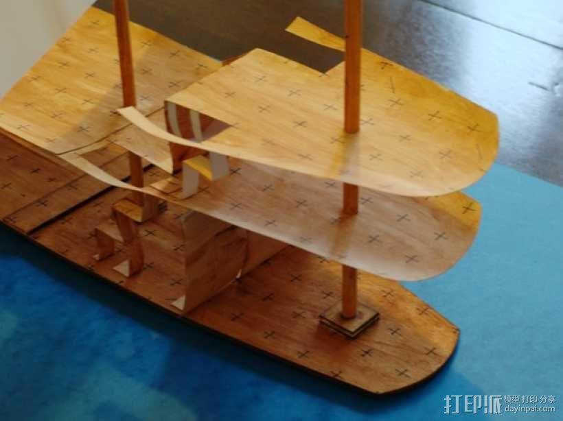 加利恩帆船 3D模型  图11