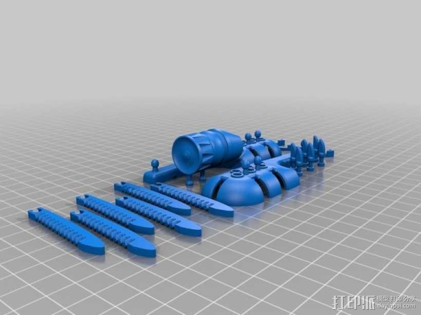 概念机 飞机模型 3D模型  图3