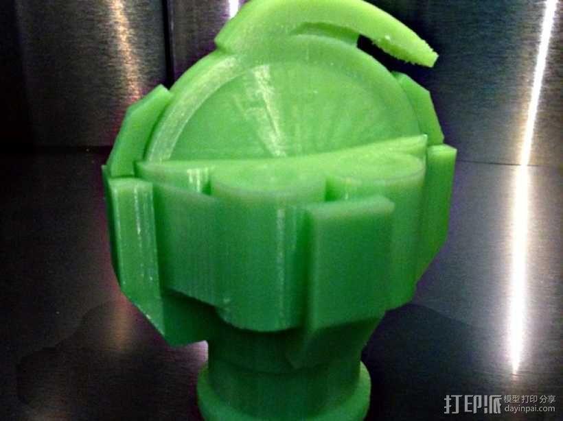无主之地手雷支架 3D模型  图1