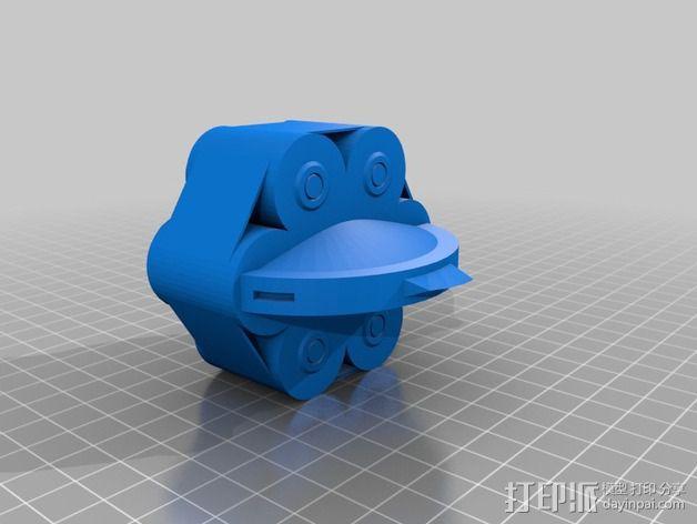 无主之地手雷支架 3D模型  图4