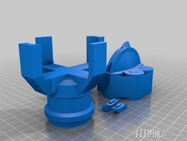 无主之地手雷支架 3D模型  图3