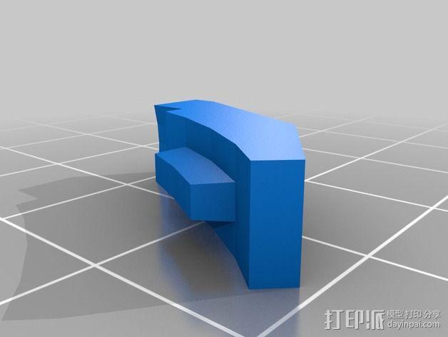 无主之地手雷支架 3D模型  图5