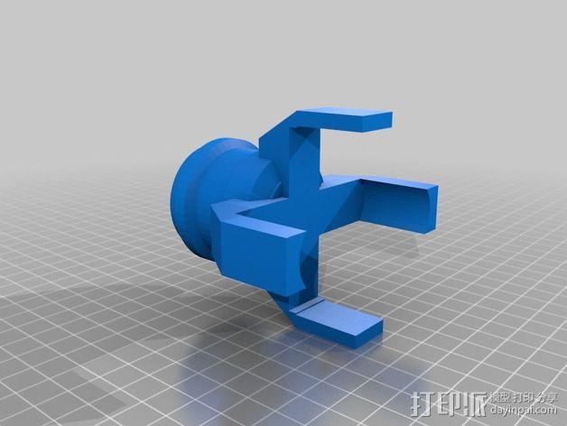 无主之地手雷支架 3D模型  图6