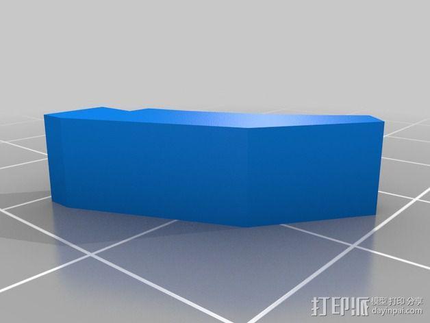 无主之地手雷支架 3D模型  图7