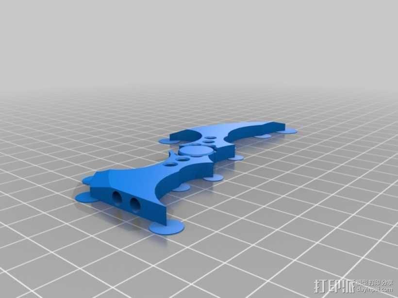 蝙蝠飞镖 3D模型  图2