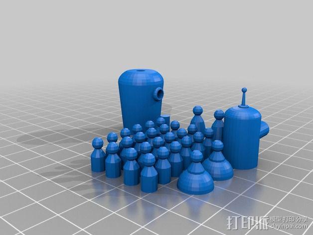 Bender Bending Rodriguez机器人玩偶 3D模型  图1