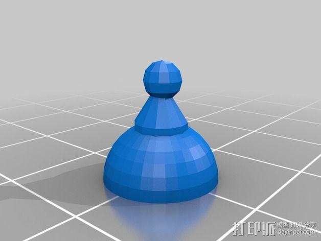 Bender Bending Rodriguez机器人玩偶 3D模型  图3