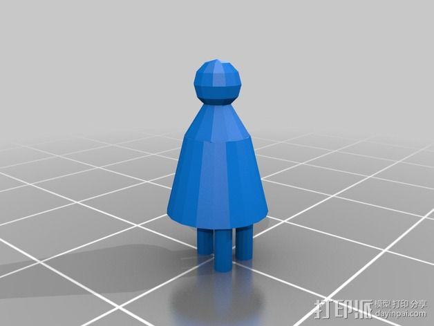 Bender Bending Rodriguez机器人玩偶 3D模型  图4