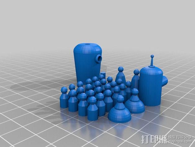 Bender Bending Rodriguez机器人玩偶 3D模型  图6