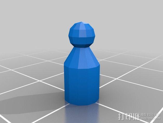 Bender Bending Rodriguez机器人玩偶 3D模型  图5
