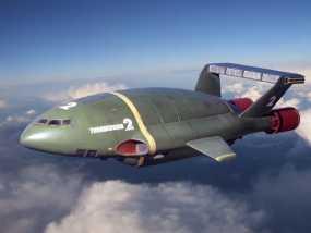 雷鸟战斗机  3D模型