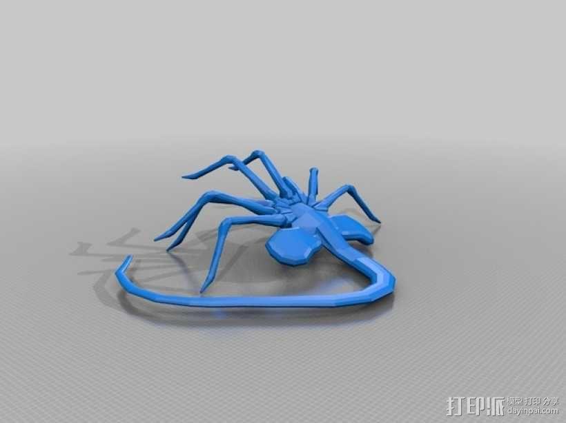 抱脸虫 3D模型  图1