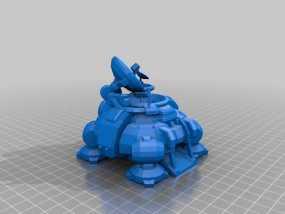 星际争霸飞船 3D模型