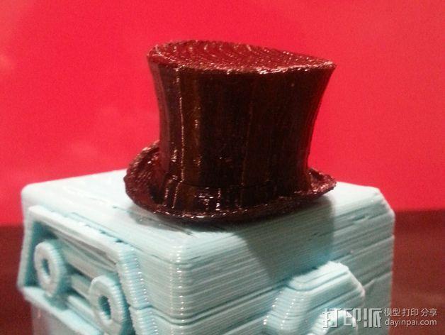大礼帽 3D模型  图4