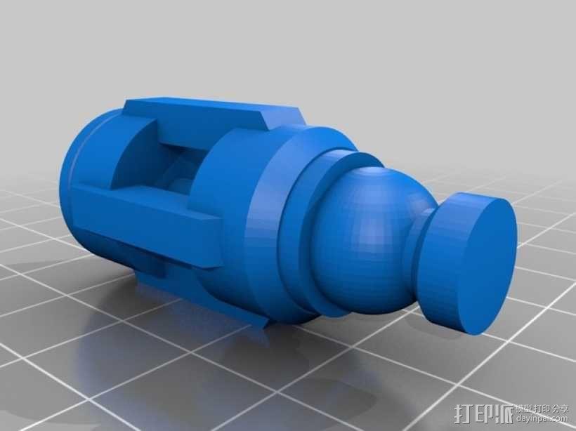 神秘博士音速起子 3D模型  图8