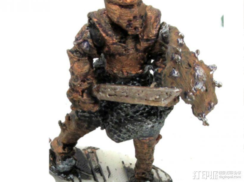 武士模型 3D模型  图3