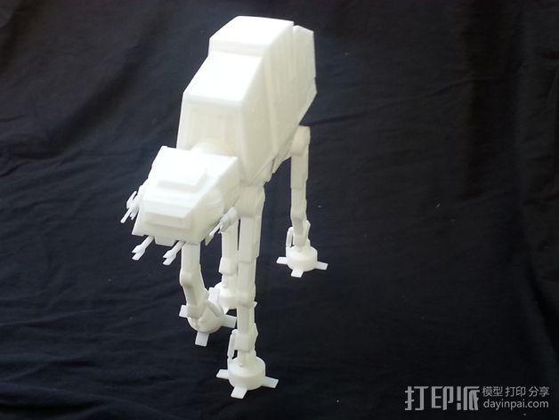 AT-AT帝国步行机 3D模型  图3