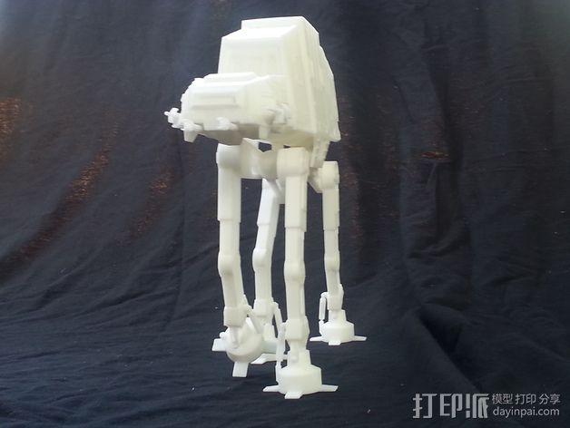 AT-AT帝国步行机 3D模型  图2