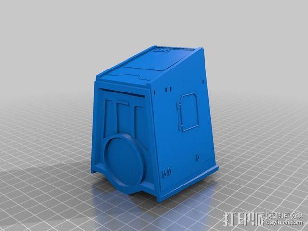 AT-AT帝国步行机 3D模型  图7