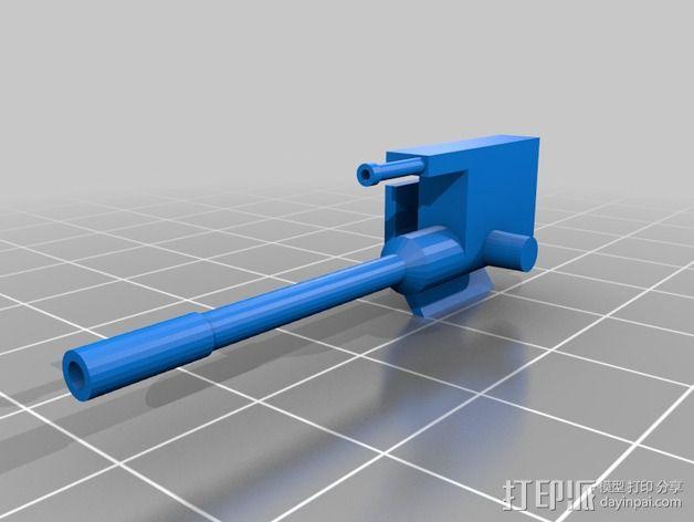AT-AT帝国步行机 3D模型  图5