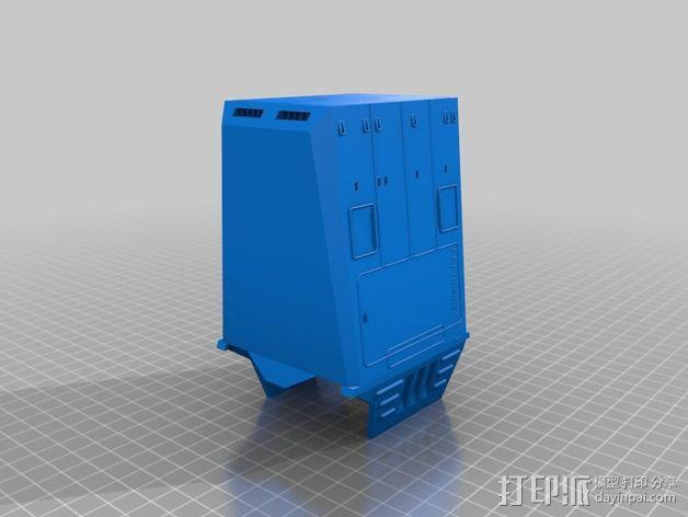AT-AT帝国步行机 3D模型  图9