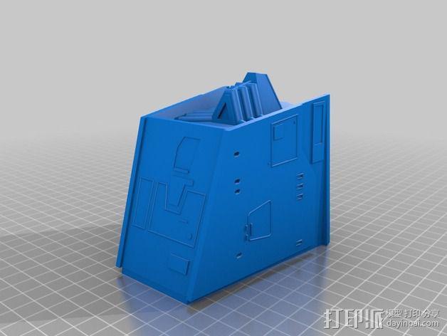 AT-AT帝国步行机 3D模型  图11