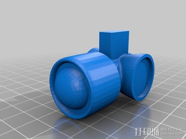 AT-AT帝国步行机 3D模型  图12