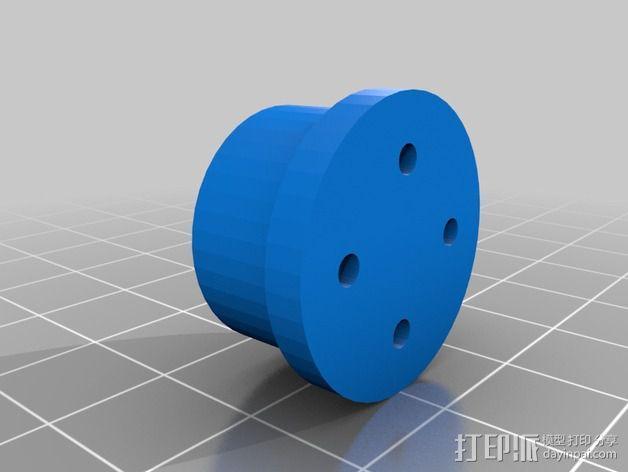 AT-AT帝国步行机 3D模型  图14