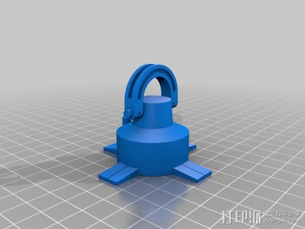 AT-AT帝国步行机 3D模型  图20