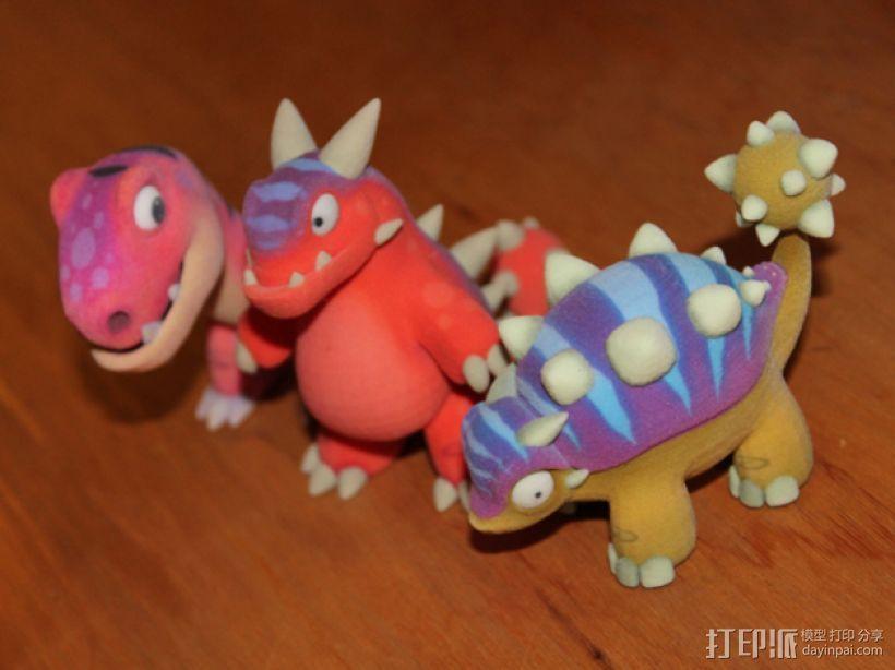 小恐龙 3D模型  图7