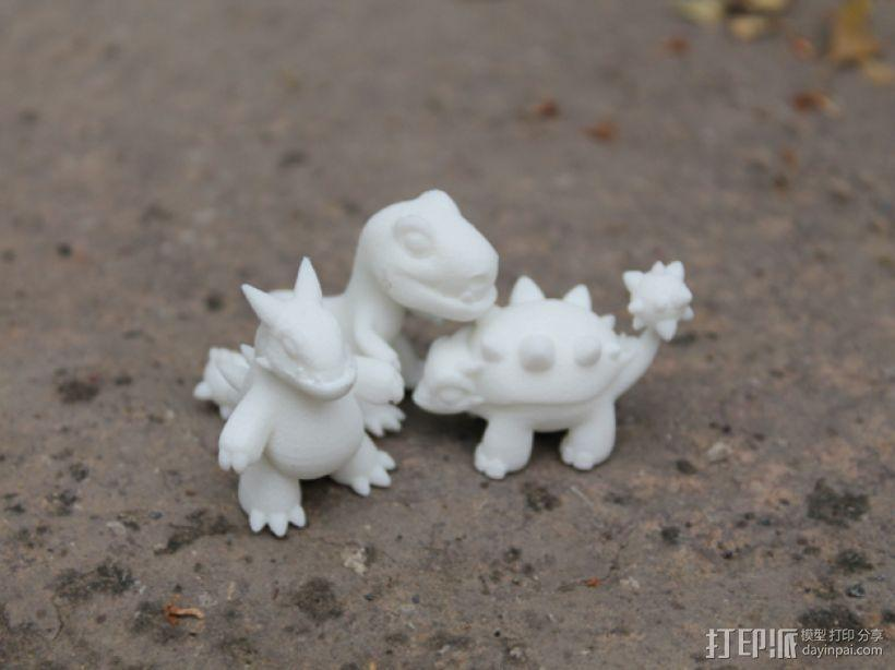 小恐龙 3D模型  图9