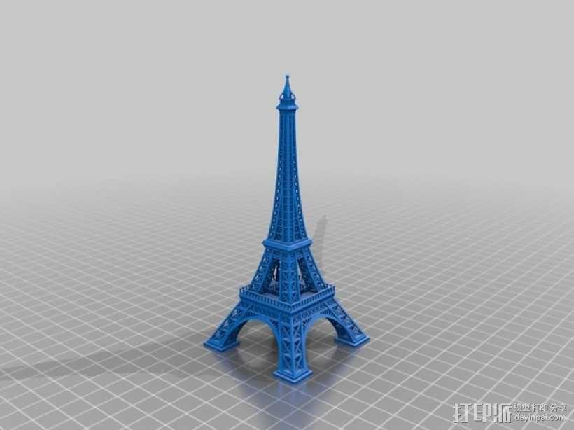 埃菲尔铁塔 3D模型  图4