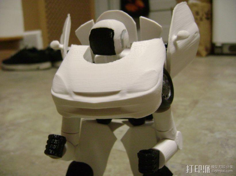变形金刚 汽车人 3D模型  图1