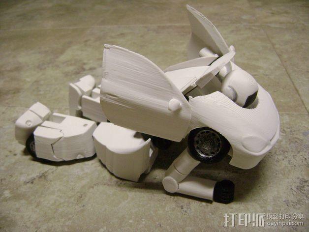 变形金刚 汽车人 3D模型  图5