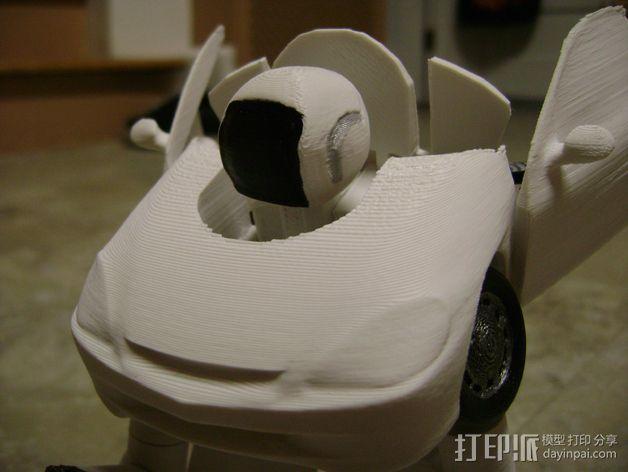 变形金刚 汽车人 3D模型  图7