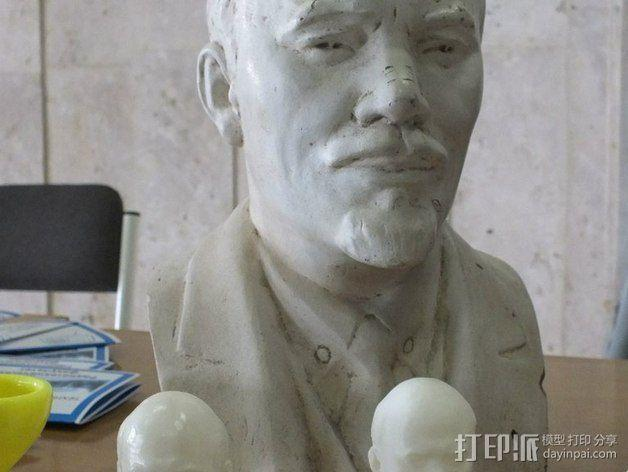 列宁雕像 3D模型  图3