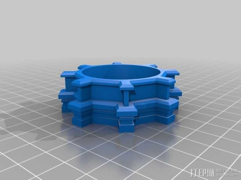 修道院钟楼 钟塔 3D模型  图2