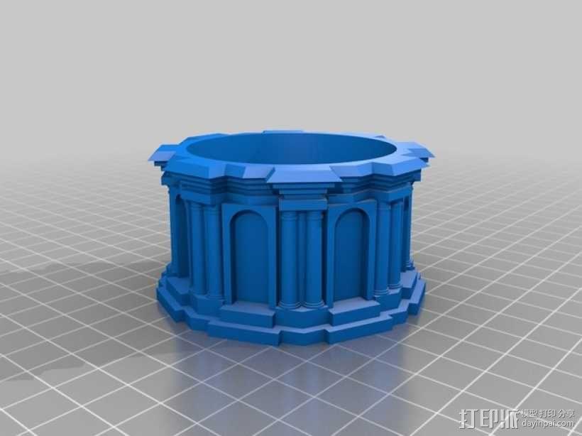 修道院钟楼 钟塔 3D模型  图6