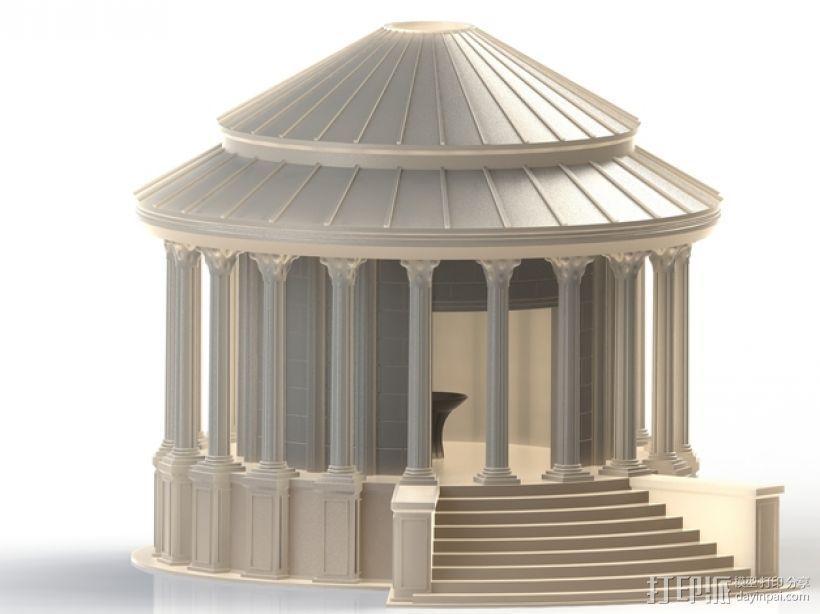 火灶神维斯塔神庙 3D模型  图1