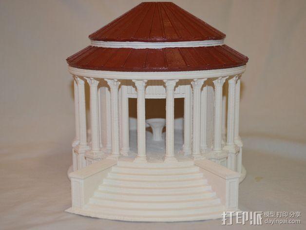 火灶神维斯塔神庙 3D模型  图7