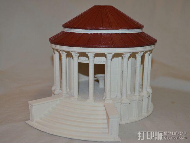 火灶神维斯塔神庙 3D模型  图6