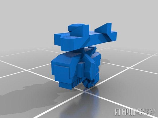 捕食者坦克 3D模型  图2