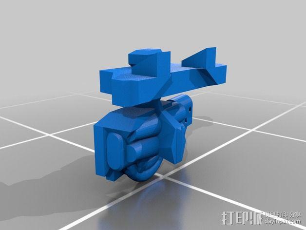 捕食者坦克 3D模型  图8