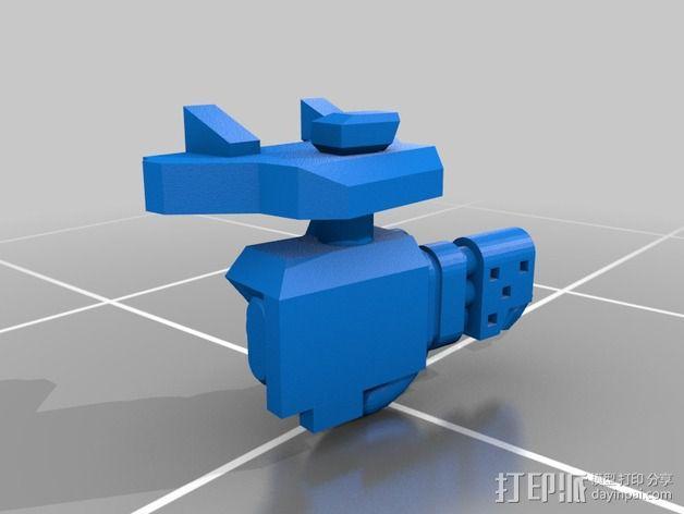 捕食者坦克 3D模型  图10